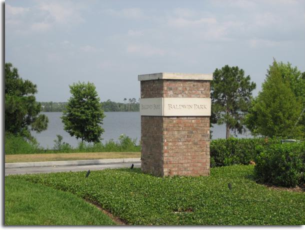 Baldwin Park Marker