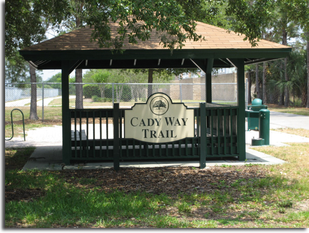 Cady Way Trail Marker