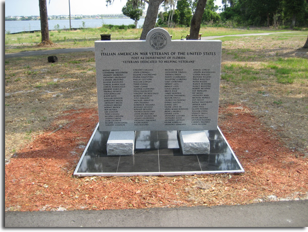 Italian-American Veterans Monument